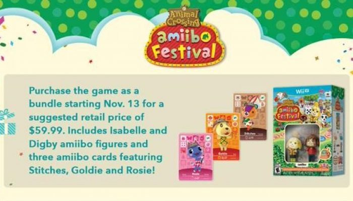 Animal Crossing amiibo Festival launches November 13 in North America