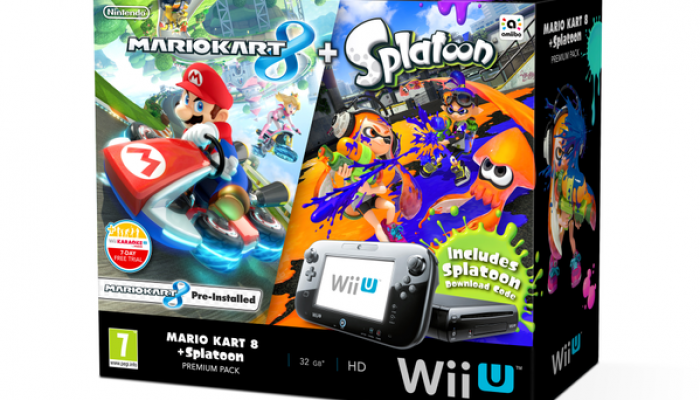 NoE: 'Mario Kart 8 + Splatoon Wii U Premium Pack comes to Europe on October 30th'
