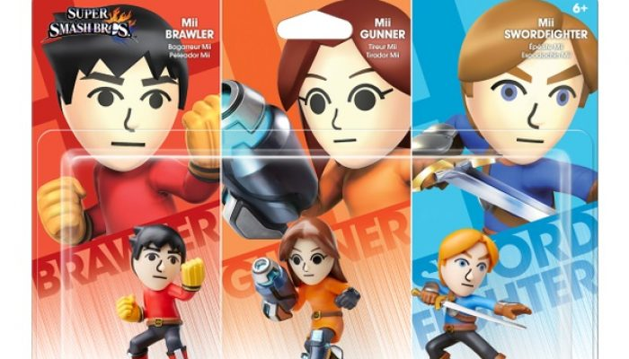 Mii Fighters 3-Pack launches November 1 in North America
