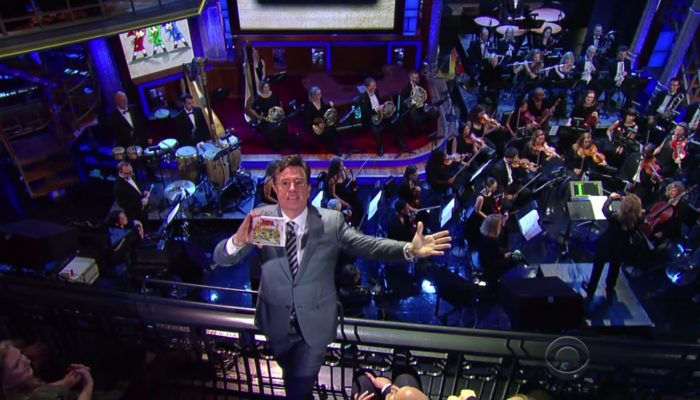 The Legend of Zelda: Symphony of The Goddesses on The Late Show with Stephen Colbert