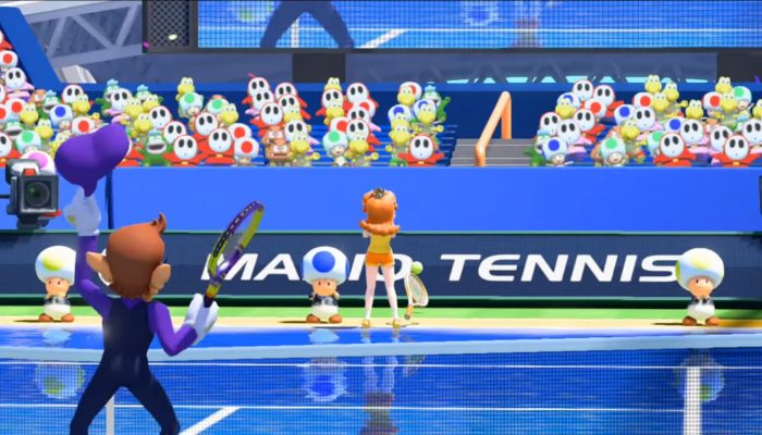 Mario Tennis: Ultra Smash – Look Who's on the Court Trailer