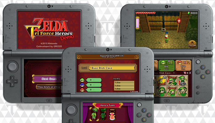 NoA: 'Free demo for The Legend of Zelda: Tri Force Heroes'