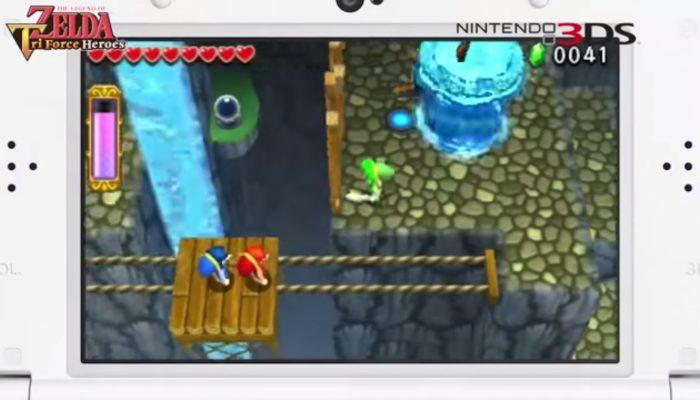 The Legend of Zelda : Tri Force Heroes – Vidéos promotionnelles françaises