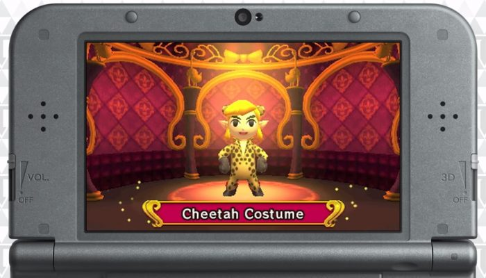 The Legend of Zelda: Tri Force Heroes – Bande-annonce des costumes