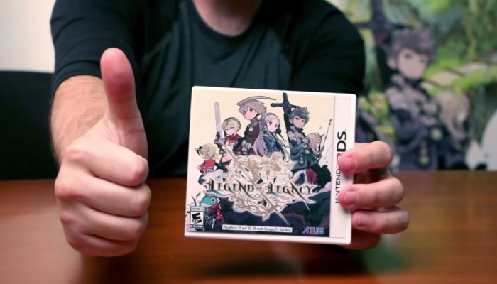 The Legend of Legacy – Unboxing Video