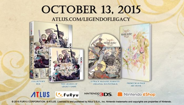 The Legend of Legacy – Launch Trailer