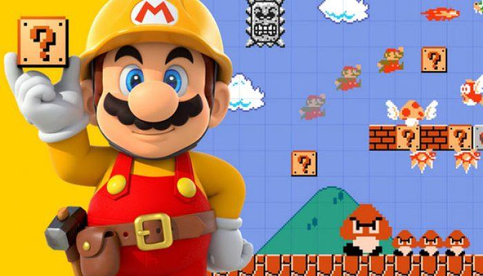 Nintendo France : 'Découvrez des niveaux créés par des pros avec la Super Mario Maker Academy !'
