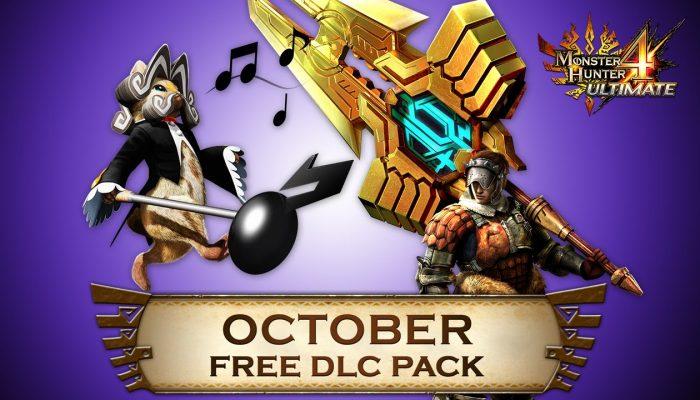 Capcom: 'Monster Hunter 4 Ultimate Free DLC Line-up for October'