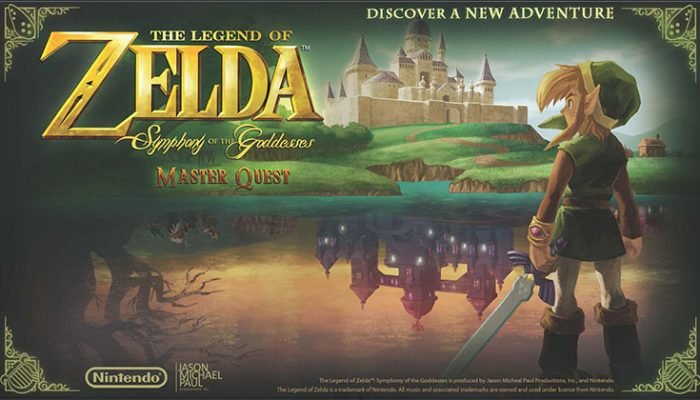 NoA: 'The Legend of Zelda: Symphony of the Goddesses — Master Quest to tour the globe in 2016'