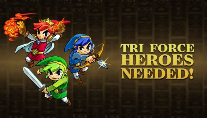 The Legend of Zelda: Tri Force Heroes – Launch Trailer