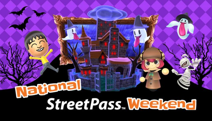 NoA: 'A super spooky StreetPass Weekend starts 10/30'