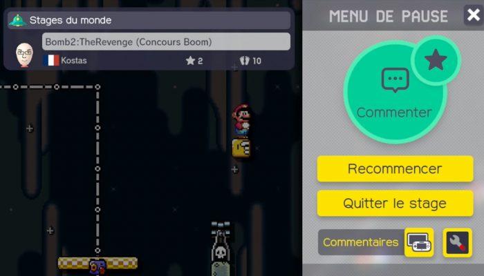 Super Mario Maker – Gagnant concours hebdo n°6