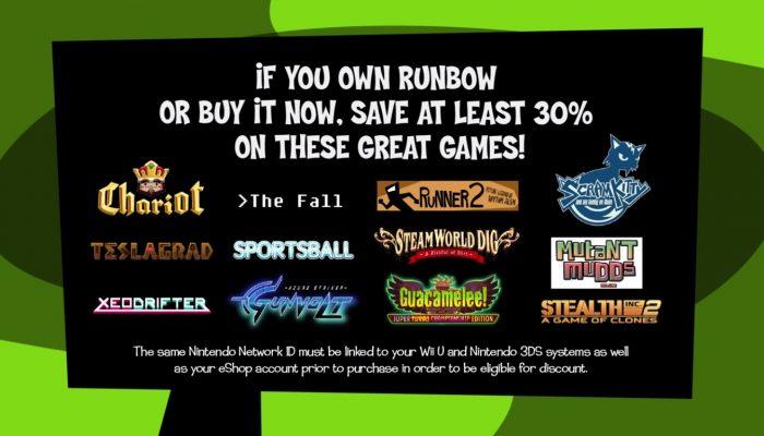 Nintendo eShop – Friends of Runbow Sale