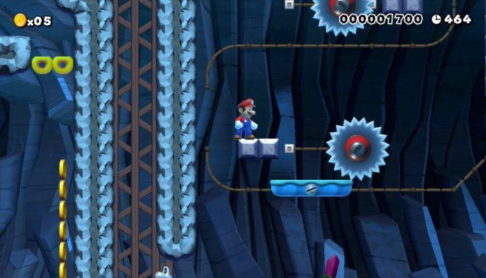 Super Mario Maker – Créations de l'Enjmin pour la Super Mario Maker Academy