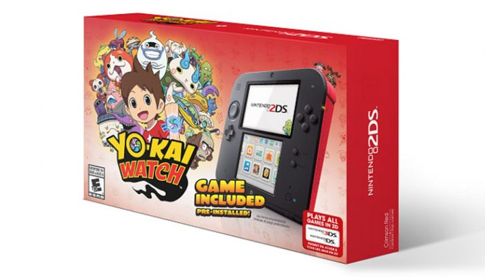 NoA: 'New Yo-kai Watch Nintendo 2DS bundle hits stores on Nov. 6'