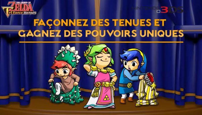 The Legend of Zelda : Tri Force Heroes – Bande-annonce Une quête pleine d'action !