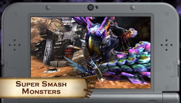 Monster Hunter 4 Ultimate – October DLC Pack Trailer