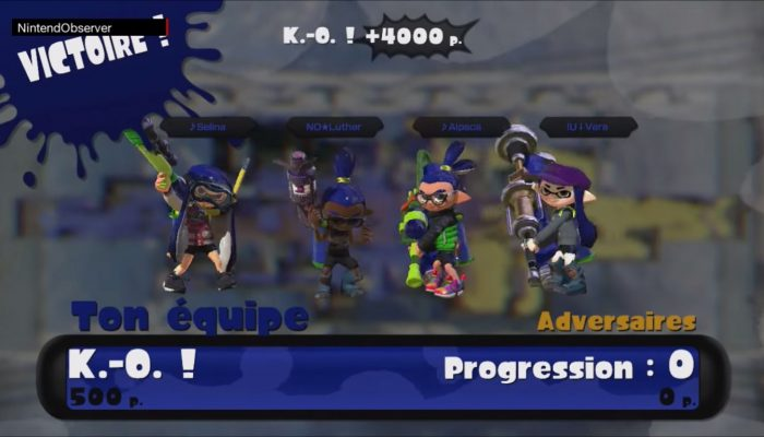 Splatoon, Quad Squad with the Squid Alliance: Defending is my job.