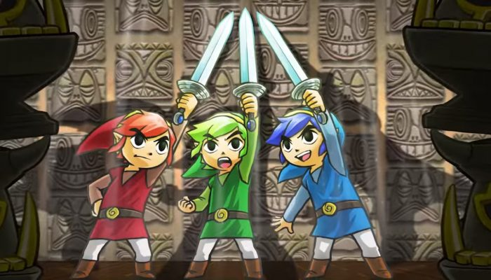 The Legend of Zelda: Tri Force Heroes – bande-annonce de sortie