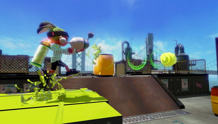 New weapons Luna Blaster Neo and H-3 Nozzlenose D available in Splatoon
