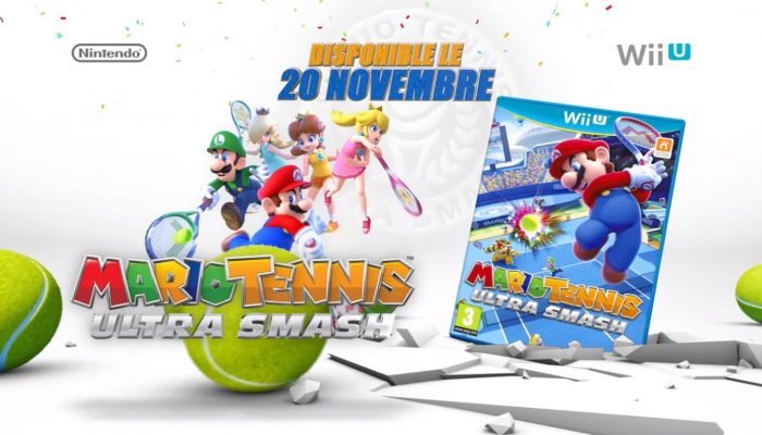 Mario Tennis: Ultra Smash – Bande-annonce vue d'ensemble