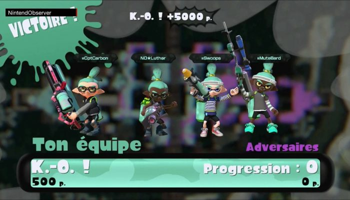 Splatoon, Quad Squad with Overlook: Perfect.