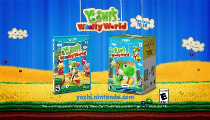 Yoshi's Woolly World – TV Commercial