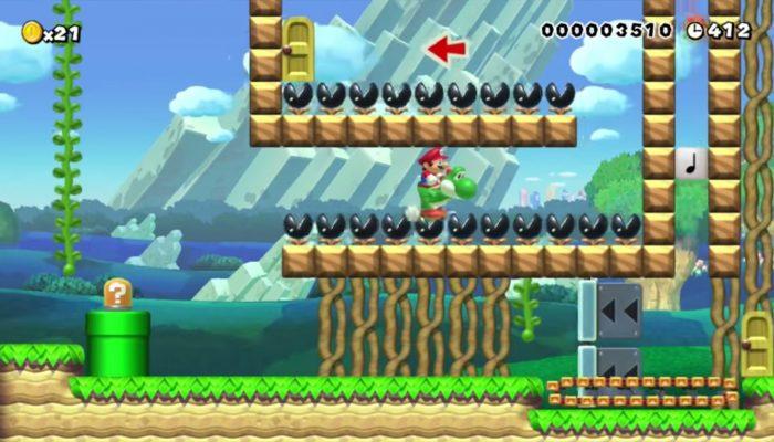Super Mario Maker – Gagnant concours hebdo n°3