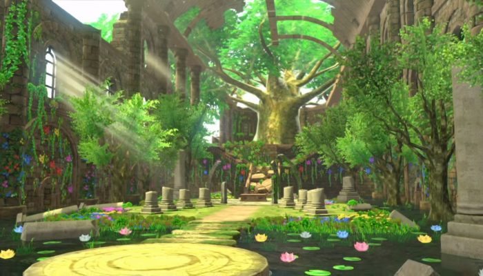 Shin Megami Tensei X Fire Emblem – Bloom Palace Footage