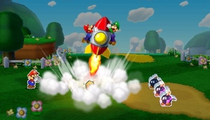 Mario & Luigi: Paper Jam – Gameplay Screenshots from 4Gamer
