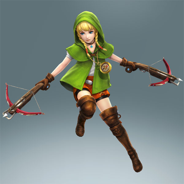 Hyrule Warriors Legends Linkle Screenshots And A New