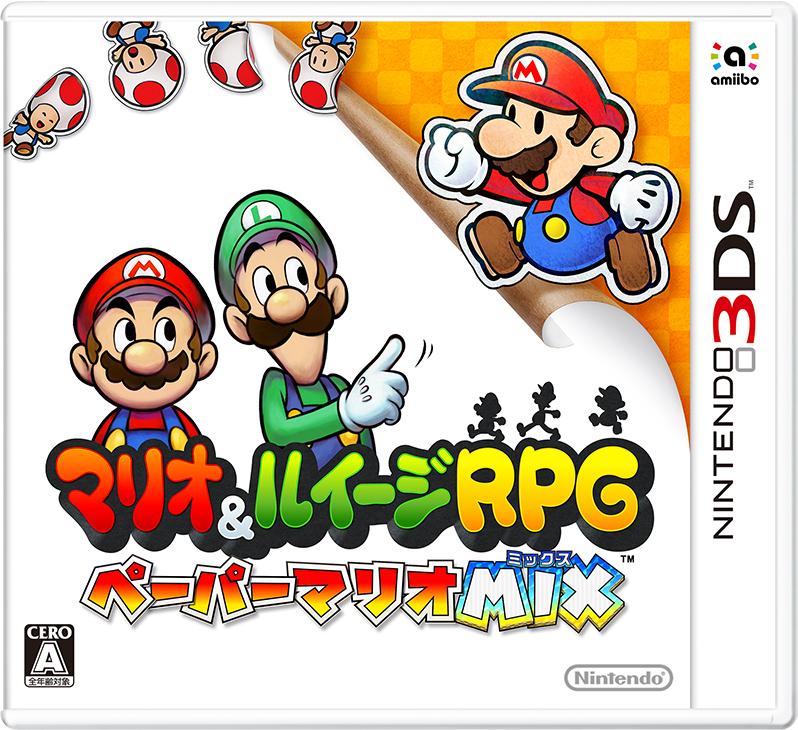 Mario & Luigi Paper Jam