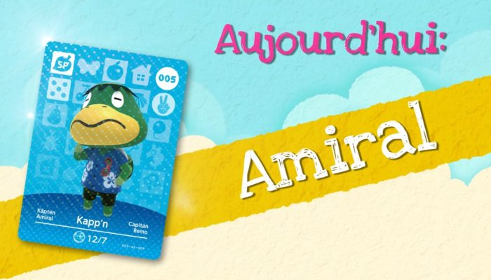 Animal Crossing : Happy Home Designer – Rencontrez Amiral