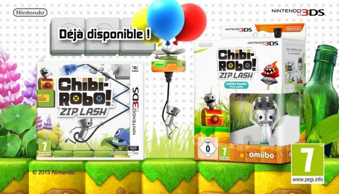 Chibi-Robo ! Zip Lash – Bande-annonce de lancement