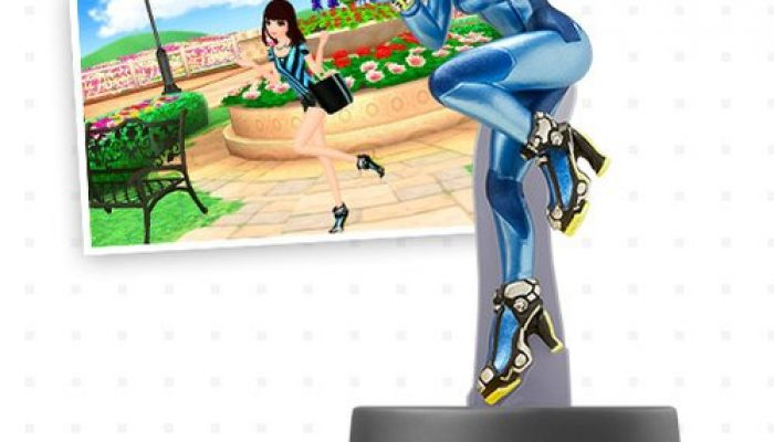 Items from amiibo Inkling Girl, Lucina, Zero Suit Samus and Palutena in New Style Boutique 2