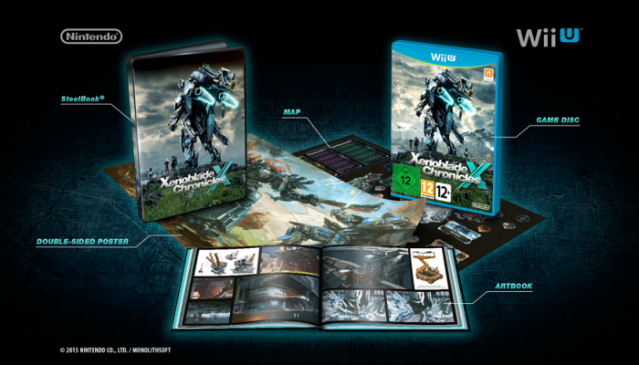 A look at the European Xenoblade Chronicles X Limited Edition