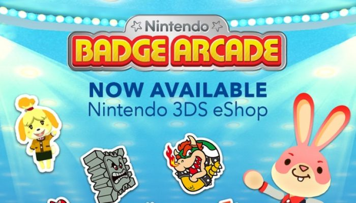 Nintendo Badge Arcade available in North America