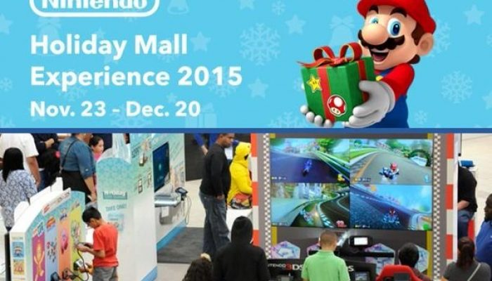 NoA: 'Nintendo Shows Off the Must-Have Games of the Holiday Season at Malls Across the U.S.'