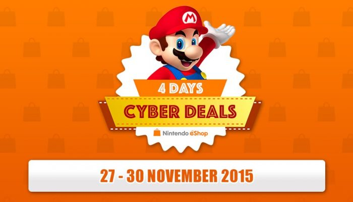 Nintendo eShop Cyber Deals announced in Europe for this weekend