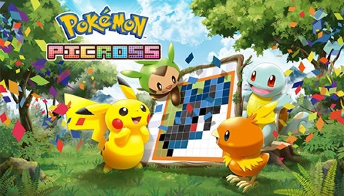 Pokémon Picross launches on December 3 in Europe