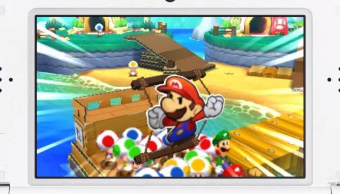 Mario & Luigi: Paper Jam – Japanese Commercial