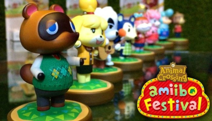 NoE: 'Start the festivities and get happy with our Animal Crossing: amiibo Festival website!'