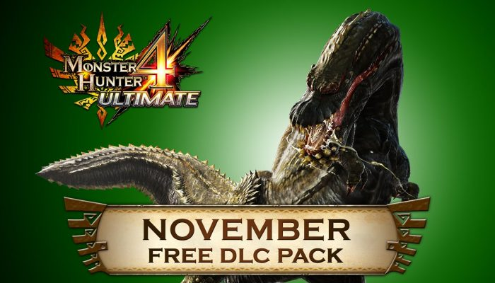 Capcom: 'Monster Hunter 4 Ultimate – Free DLC Line-up for November'