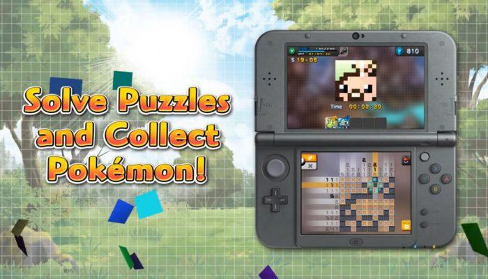 Pokémon Picross – Turn Puzzles into Portraits! Trailer