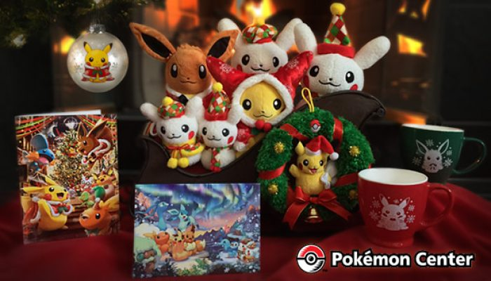 Pokémon: 'Celebrate the Holiday Season with Pokémon!'