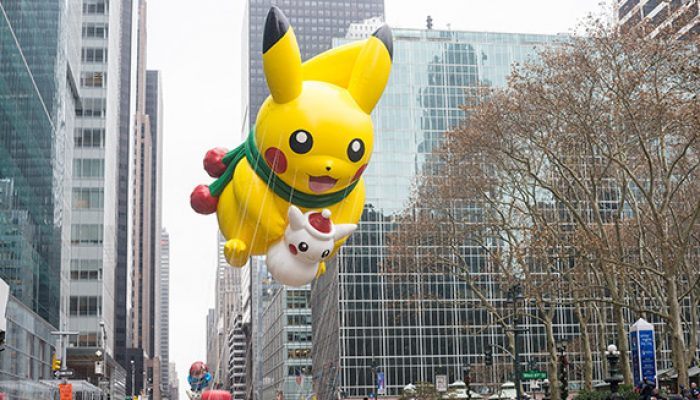 Pokémon: 'Pikachu Flies High This Thanksgiving!'