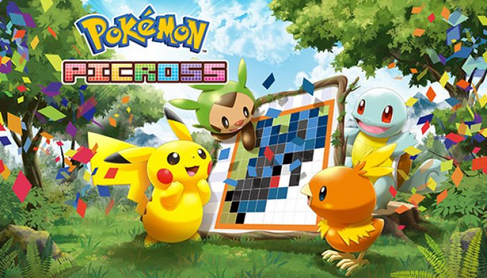 """Pokémon : """"Transformez des puzzles en portraits avec Pokémon Picross !"""""""
