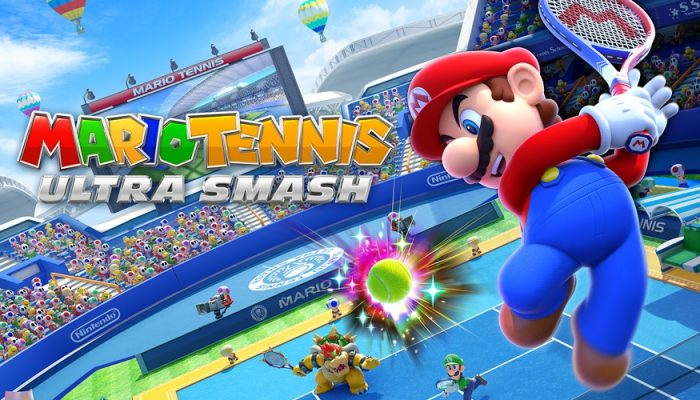 NoE: 'Warm up for crazy tennis fun with our updated Mario Tennis: Ultra Smash gamepage'