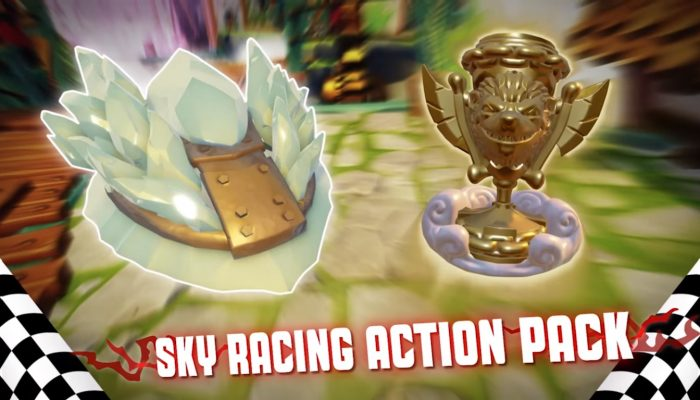 Skylanders SuperChargers – Sky Racing Action Pack Trailer