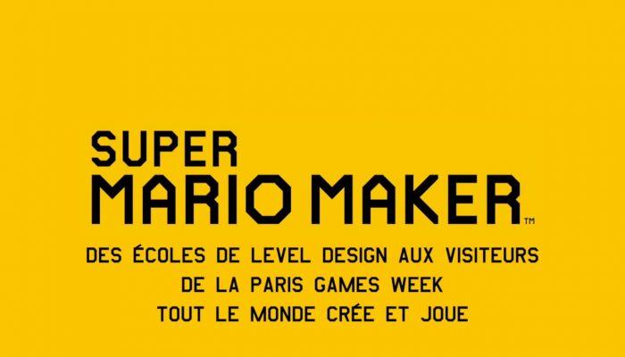 Super Mario Maker – Tout le monde joue et crée à la PGW